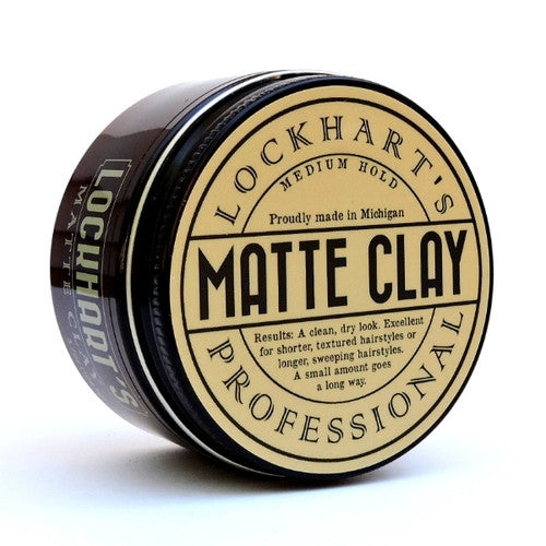 Lockharts Professional Matte Clay Medium Hold 3.7oz