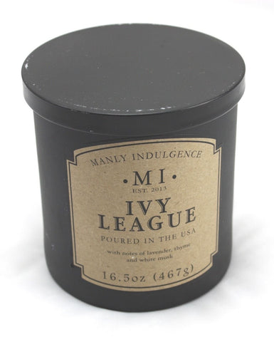 Manly Indulgence Ivy League Scented Candle 16.5oz