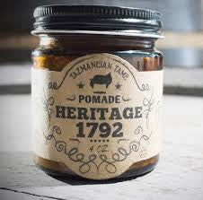 Tazmaneian Tame Heritage 1792 Pomade Water Based Medium Hold 4oz
