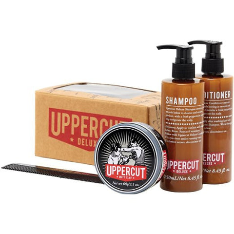 Uppercut Deluxe Men's Essential Kit - Matt Clay