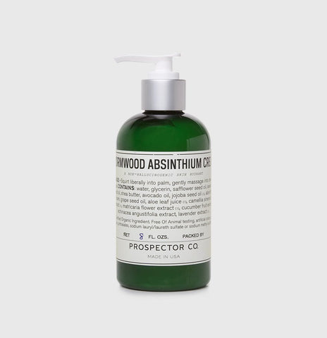 Prospector Co. Wormwood Absinthium Cream 8oz