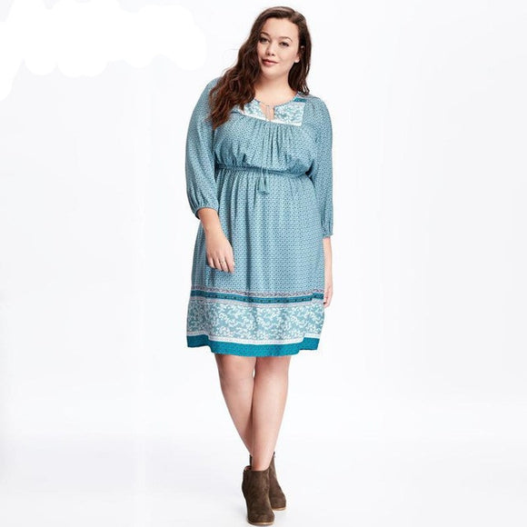 Oberlo dress Trendy High Quality Plus Size Dresses