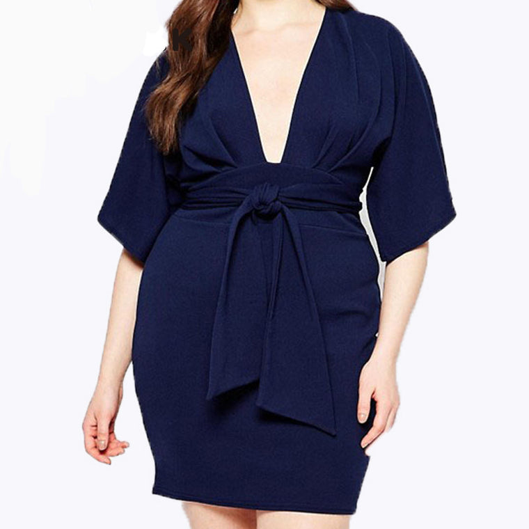 Oberlo dress Trendy Casual Fashion Plus Size Dresses