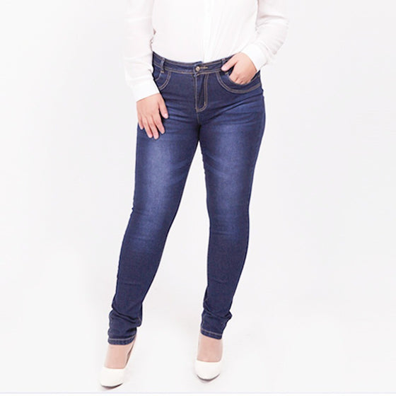 Trend Essential Women Pants Blue Jeans