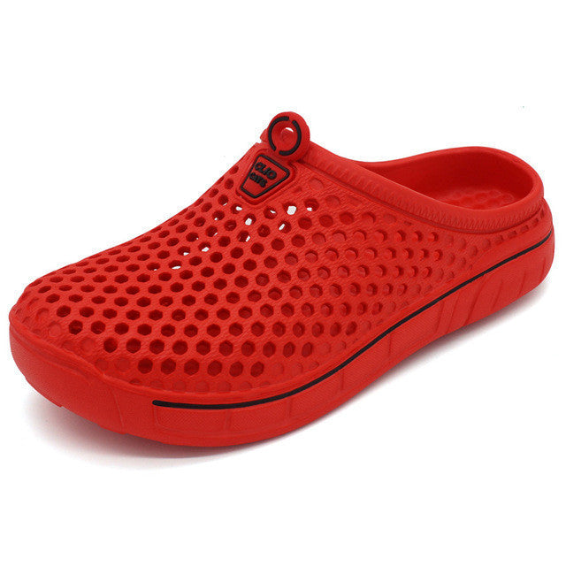 Oberlo women shoes RED / 5.5 Trendy Summer Beach Slipper Breathable