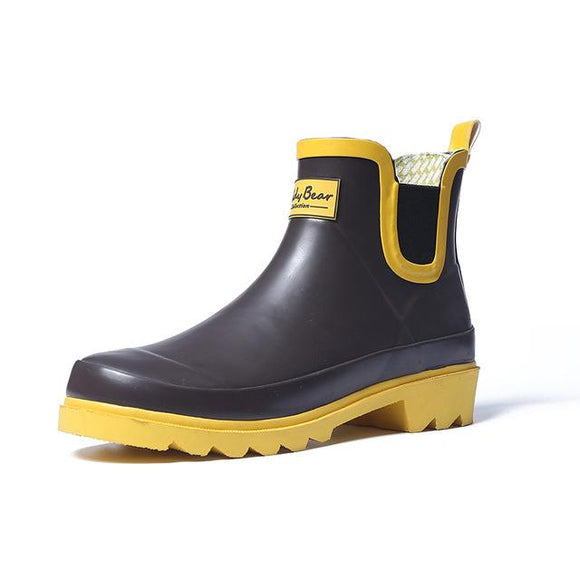 Casual Ankle Rain Boots
