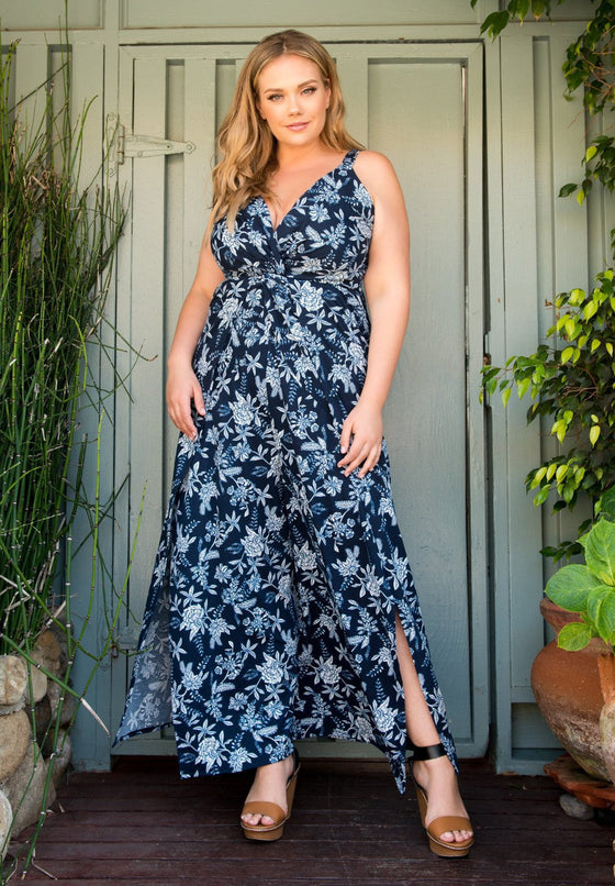 Trend Essential  Rompers/Jumpsuit Trendy  Sleeveless Plus Size Jumpsuit,