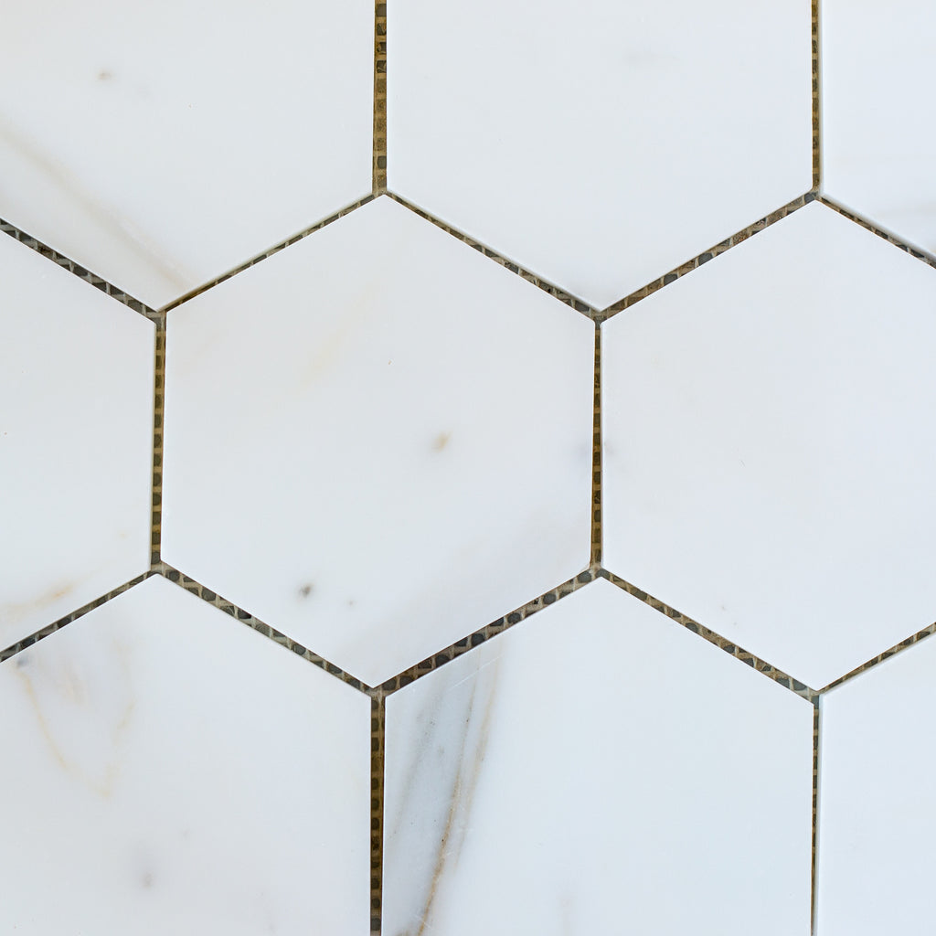 CALACATTA GOLD / HEXAGON 110MM