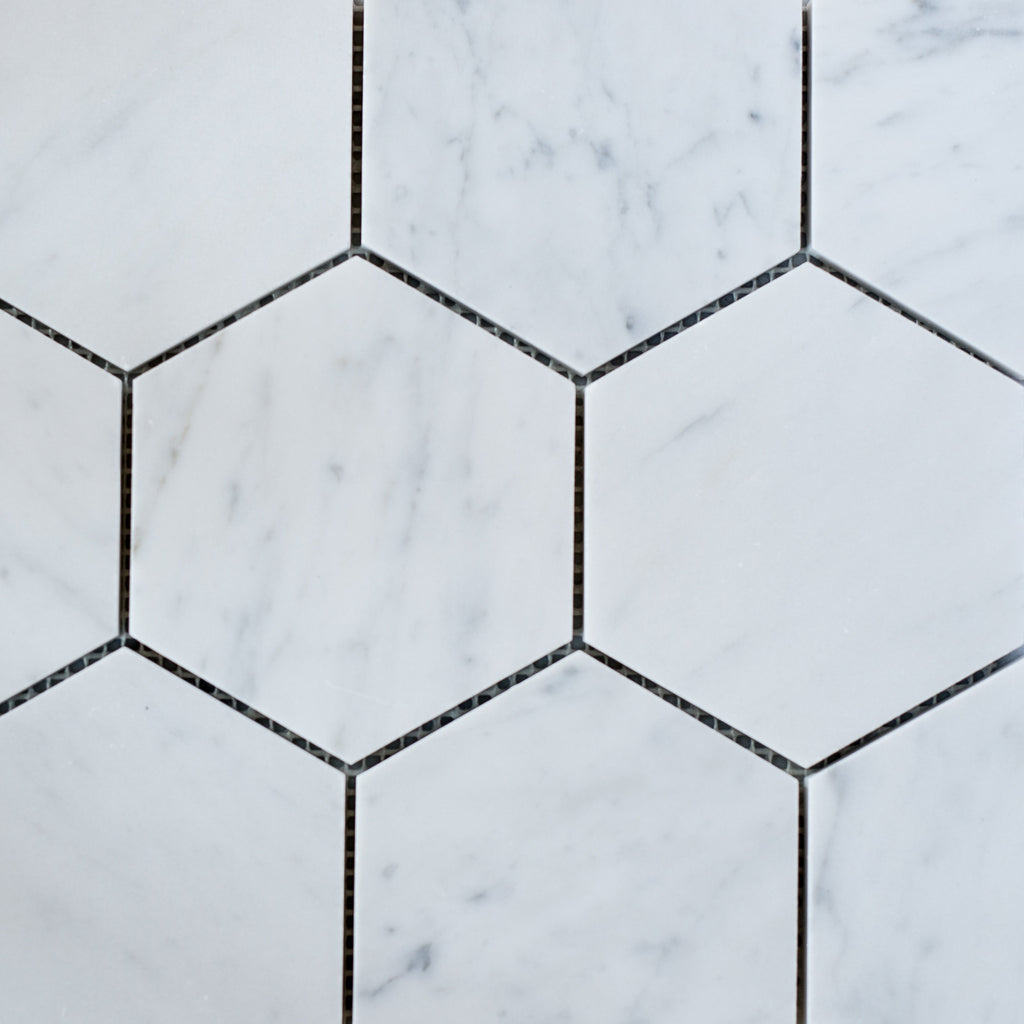 CARRARA / HEXAGON 110MM