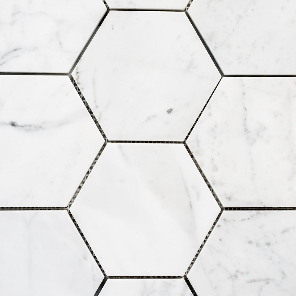 CARRARA / HEXAGON 144MM
