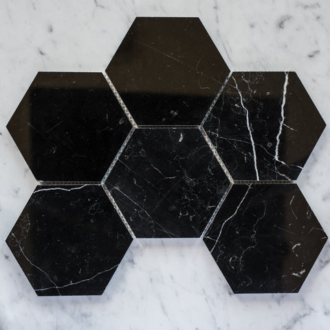 NERO MARQUINA / HEXAGON 144MM