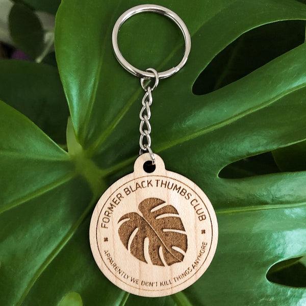 Former Black Thumbs Club Keychain