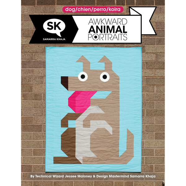 Awkward Animal Portraits PDF: Dog
