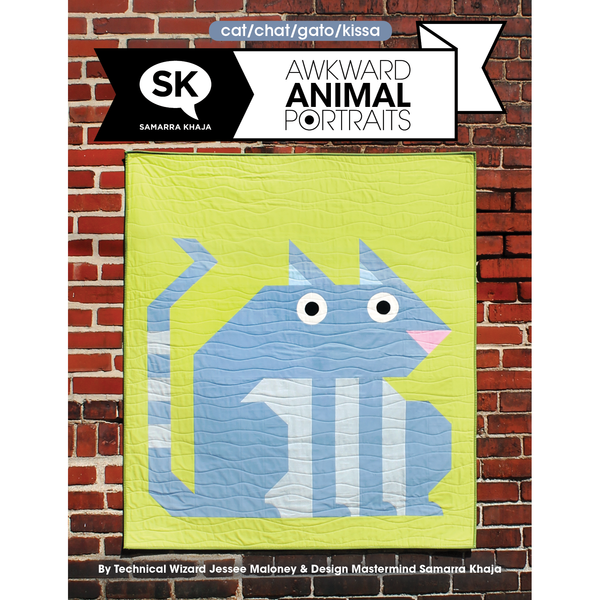 Awkward Animal Portraits PDF: Cat