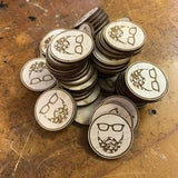 Bulk Laser Cut Needleminders or Pins