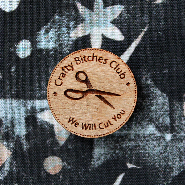 Crafty Bitches Club - Needle Minder or Pin