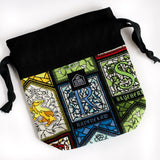 Which House Are You? Drawstring Style Dice Bag
