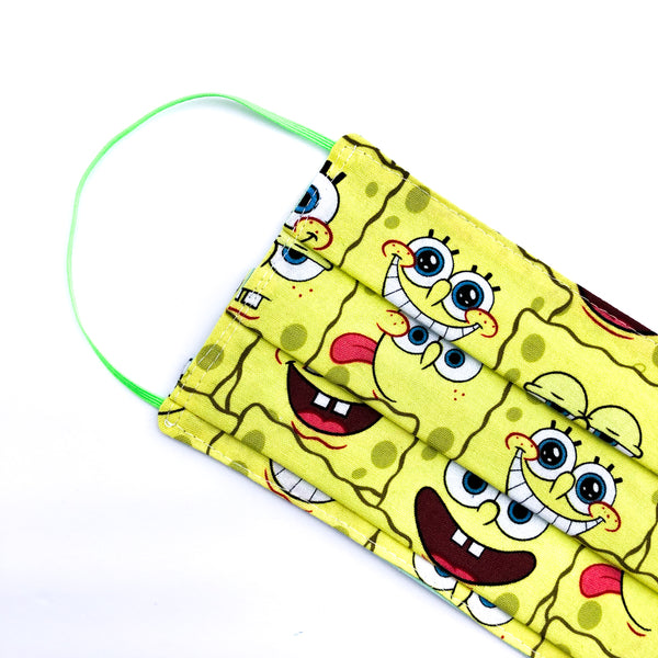 Spongebob Mask - Big Kid & Preteen Size / Accordion Style