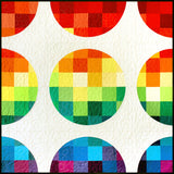 Pixelated Circles Quilt