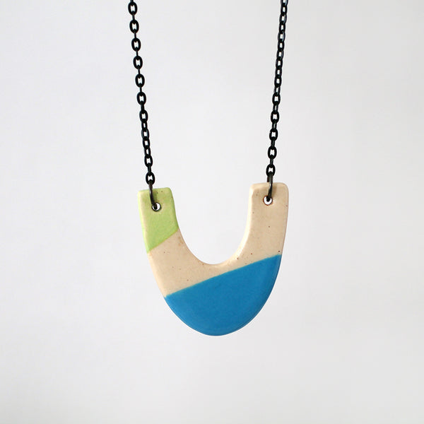 Ceramic Necklace #002