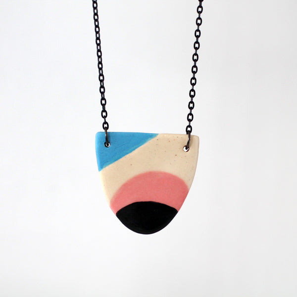 Ceramic Necklace #003