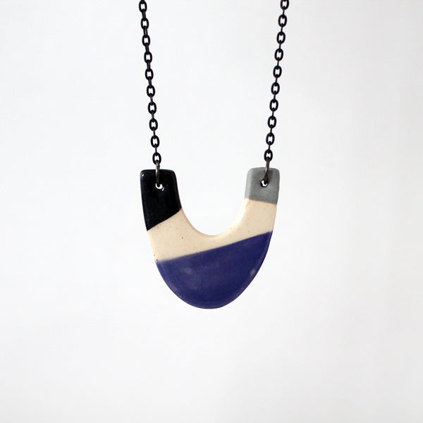 Ceramic Necklace #004