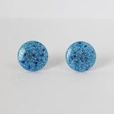 Dot Dot Earring - Blue on Blue