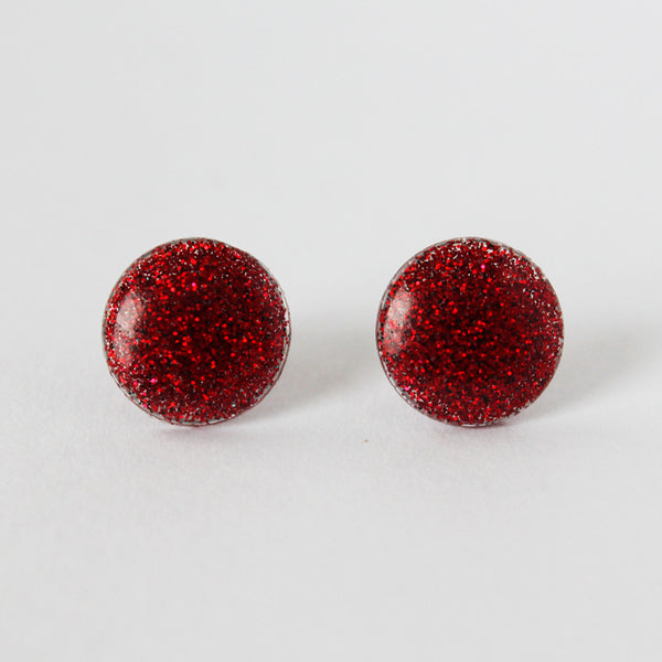Dot Dot Earring - Red