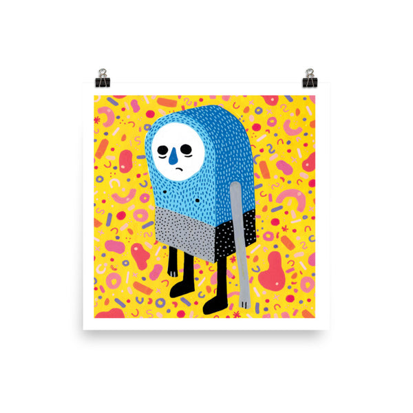 """James the Sad Dude"" Print"