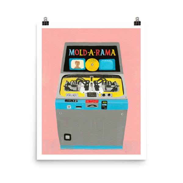 """My Favorite Vending Machine"" Print"