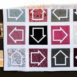 "Which Way is Up? 8"" Quilt Block - Paper Pieced PDF PATTERN"