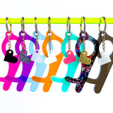Door & Keypad Safety Keychain - Various Colors