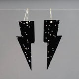 Hanging Lightning Bolt Earrings - Mystery Color