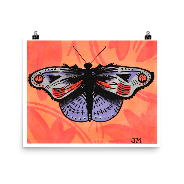 """Motherfly"" Print"