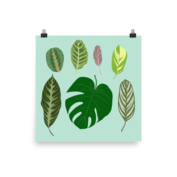 My Favorite Leaves print