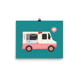 Ice Cream Truck to the Rescue! Print