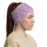 Toilet Paper Everywhere Neck Gaiter - Vapor Purple
