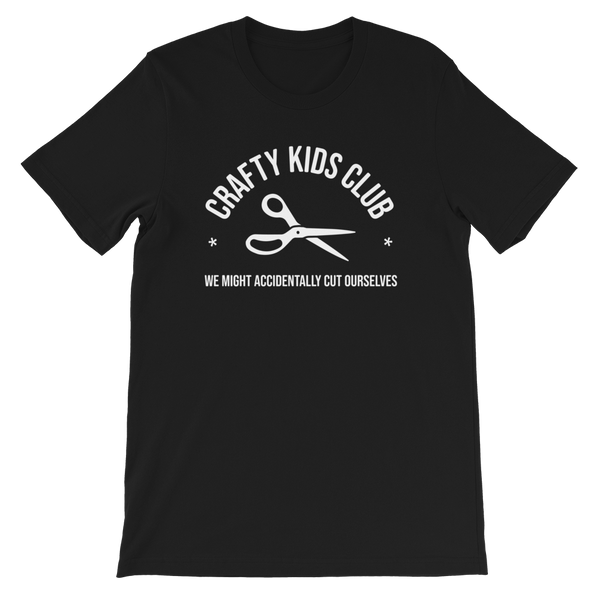 Crafty Kids Club T-Shirt (adult sizes)