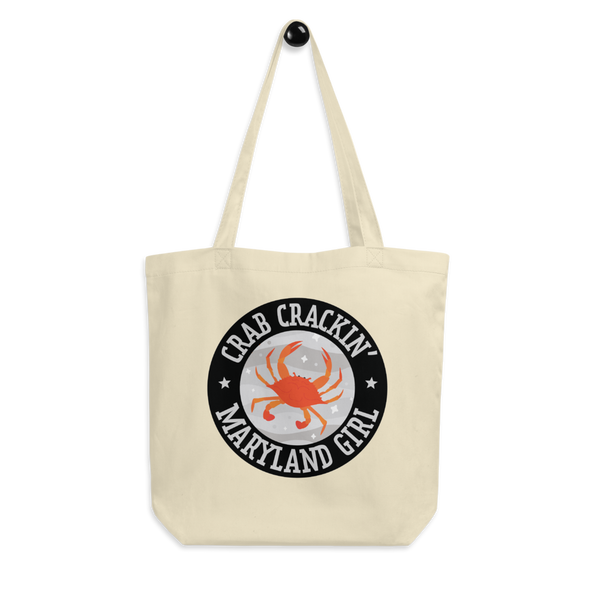Crab Crackin' Maryland Girl Eco Tote Bag