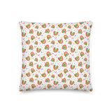 Rainbow Doodles Pillow