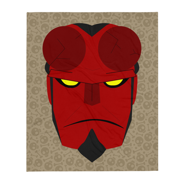 Hellboy Plush Blanket