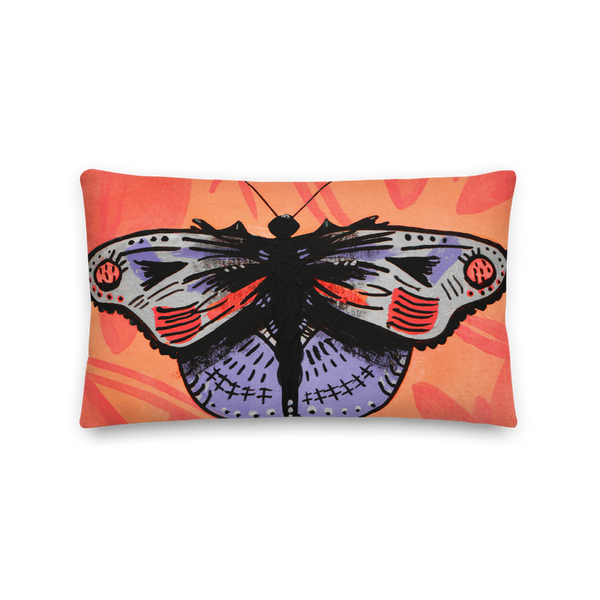 """Motherfly"" Pillow"