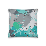 Abstract Experiment #001 Pillow
