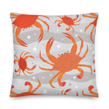Cooked Crabs Pillow