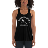 Crafty Bitches Club Flowy Racerback Tank