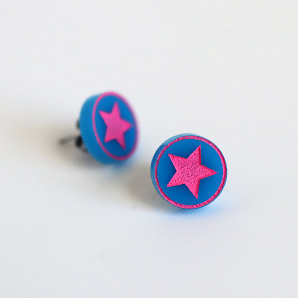 Ramona Flowers Stud Earrings