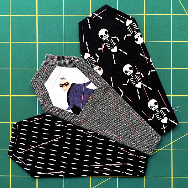 A Ring Of Coffins English Paper Piecing Epp Template