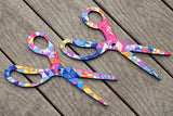 XL Wall Scissors - Rainbow Fragments