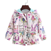 New spring & summer girls casual hooded jackets | Outerwear for Girls