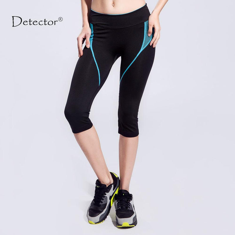 Women Yoga Leggings / Exercise Tights with side stripes. Great for Sports, Fitness or Running